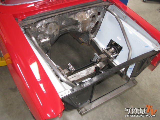 Video: Chassiswork's g-Machine Chevy II Front Clip Install