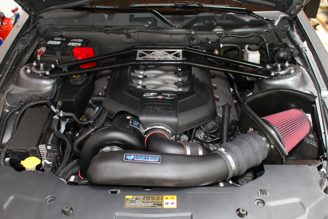 Vortech Supercharger Install and Test on our 2011 Mustang GT