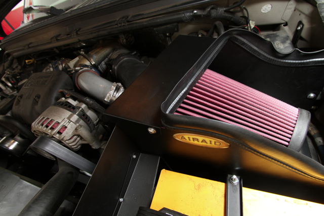 Airaid Intake Install on our Diesel F-250