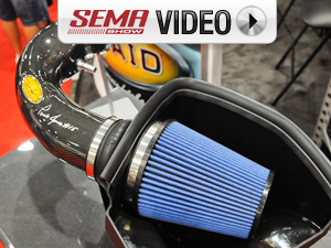SEMA 2011: AIRAID's Parnelli Jones Edition Boss 302 Air Intakes