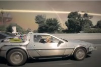 BTTF DeLorean Plays Iconic Role in Music Video by The Limousines