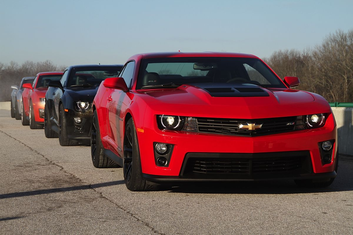 Behind the Wheel: Driving the Camaro ZL1