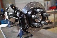 Installing Moser Engineering's New Drag Brakes On Project BlownZ