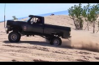 Video: Chevy Trucks Challenge Hill In 2WD With High-RPM