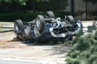 Video: First-Gen Camaro SS Totaled After Nasty Rollover in Illinois