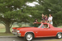 Video: Muscle Cars, Hot Rods, Girls, Running From The Law And Music