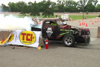 Video: TCI Sponsors Burnout Contest at Summer Nats 2012