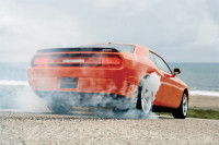 Video: Burnout Fail Or Failure To Disable Traction Control