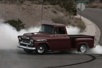 Video: '59 Chevy Apache Lights Em Up On Cue With Big-Block Power