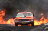 Video: KRANKY Torching The Asphalt In A Fire-Breathing Burnout