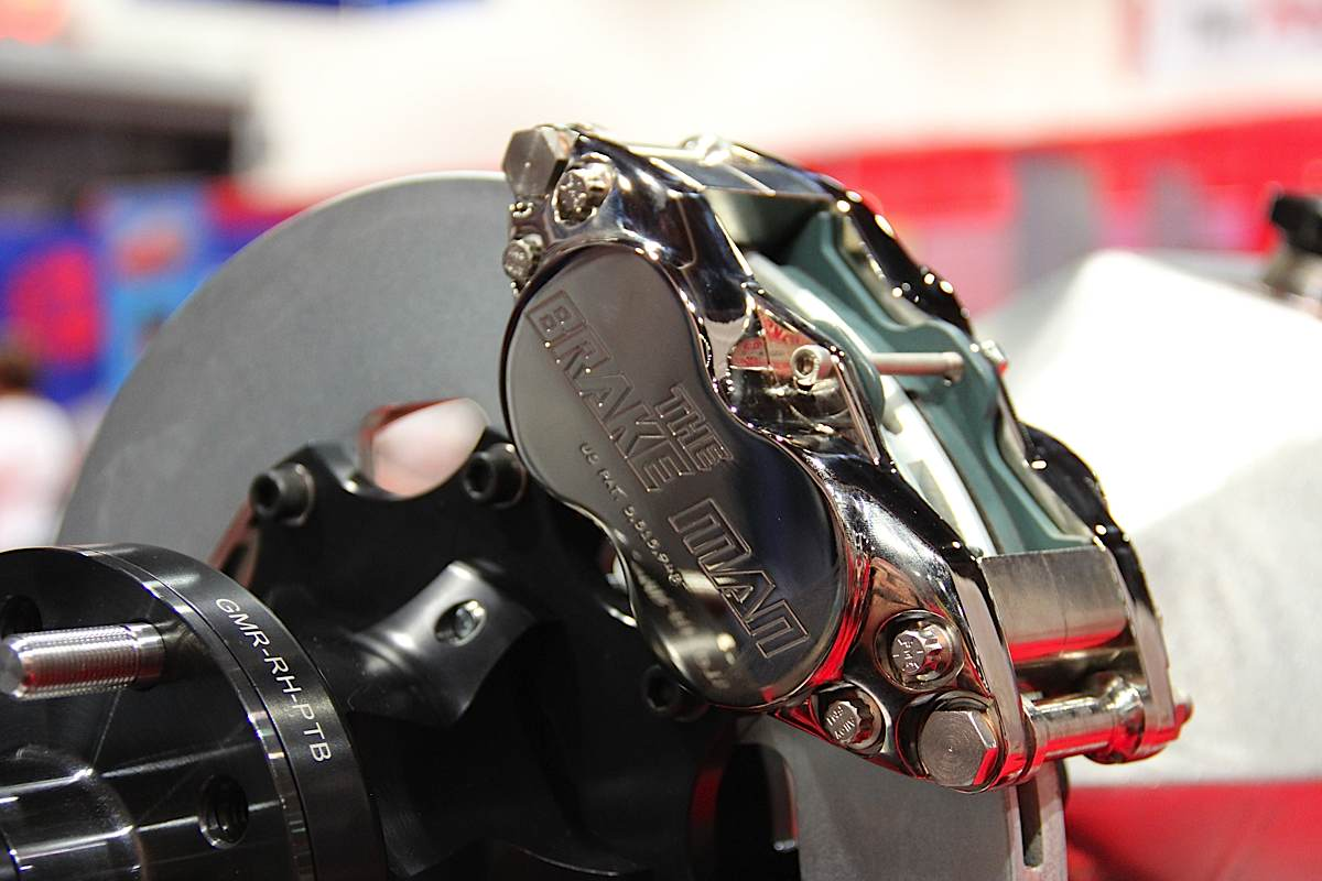 SEMA 2012: Man Up With Help From The Brake Man