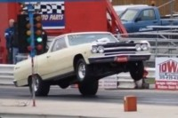 Video: Wayne Fritchie's ProCharged El Camino In Action At The Drags