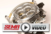 SEMA 2012: Holley's Terminator EFI Draws From NASCAR Design