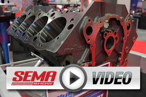 SEMA 2012: BluePrint Engines - New Block, Cylinder Heads And Crates