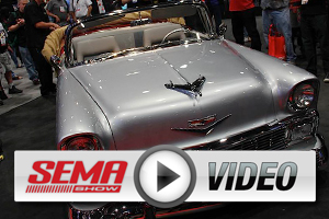 SEMA 2012: Dan Woods Tours '56 Chevy Tri-Five And Legendary '69