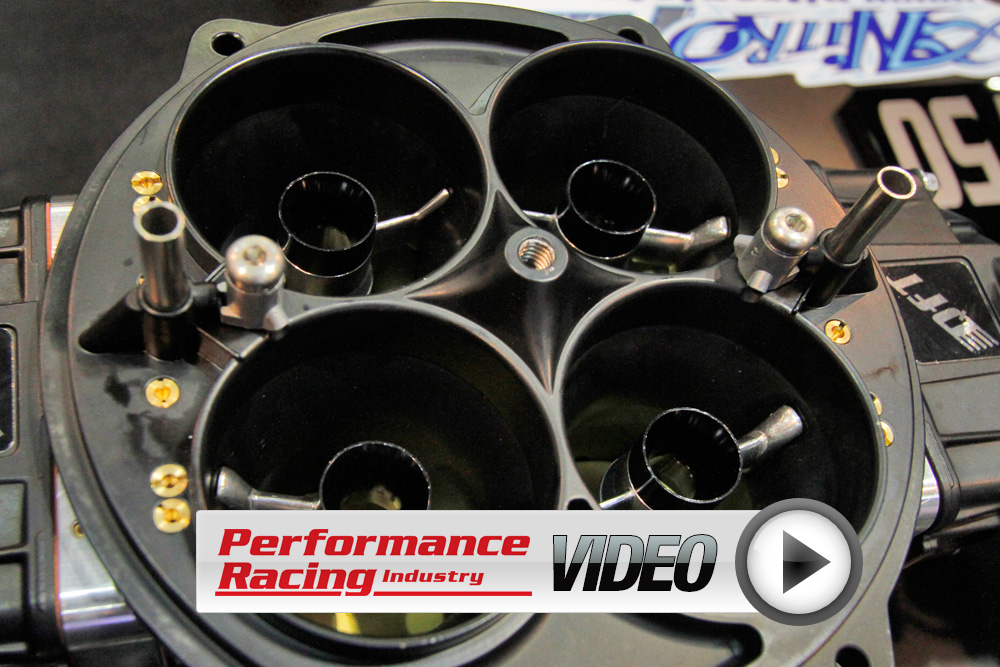 PRI 2012: Quick Fuel Technology's New Black Diamond Series Carbs