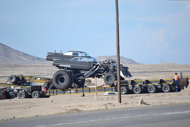 Video: Mad Max 4 Vehicles Caught In The Open