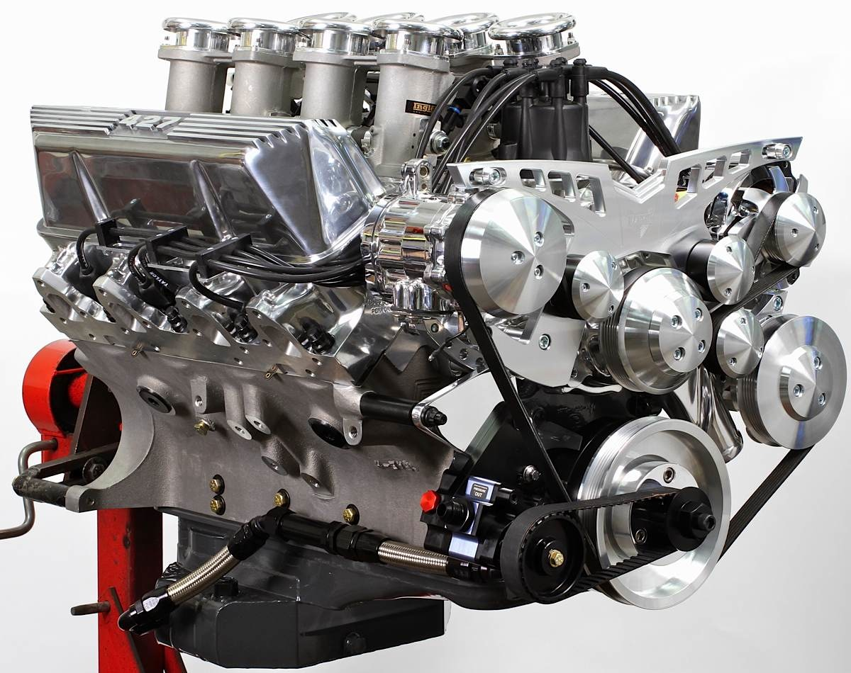Engine Build: 482ci Ford FE With 8 Stacks of Jewels