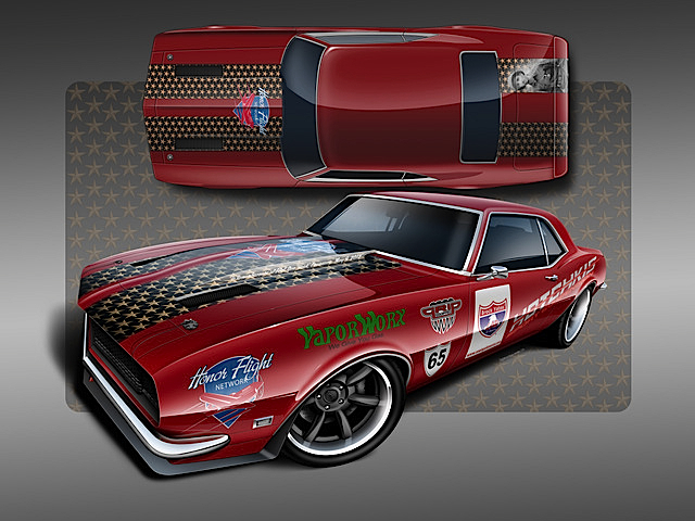 Paying Back, Team Honor Flight Builds Camaro For One Lap of America Race