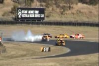 Videos: Classic Car Racing Isn't All It's Cracked Up To Be