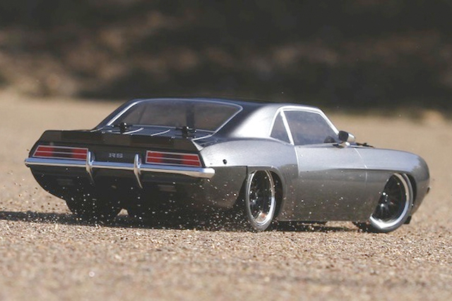 Video: Vaterra RC Builds A Life-Like '69 RS Camaro