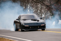 Video: Insane ProCharged Small Block RX-7 Does Donuts