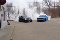 Video: Mustang GT, Cadillac CTS-V Burnout Prove We're All Gearheads