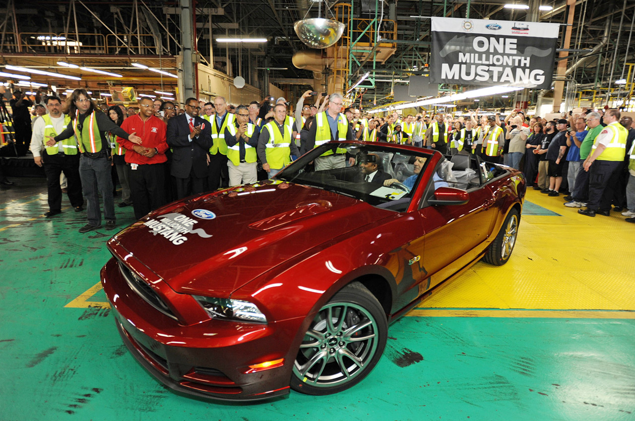 Video: Ford Celebrates One Millionth Mustang Built At Flat Rock