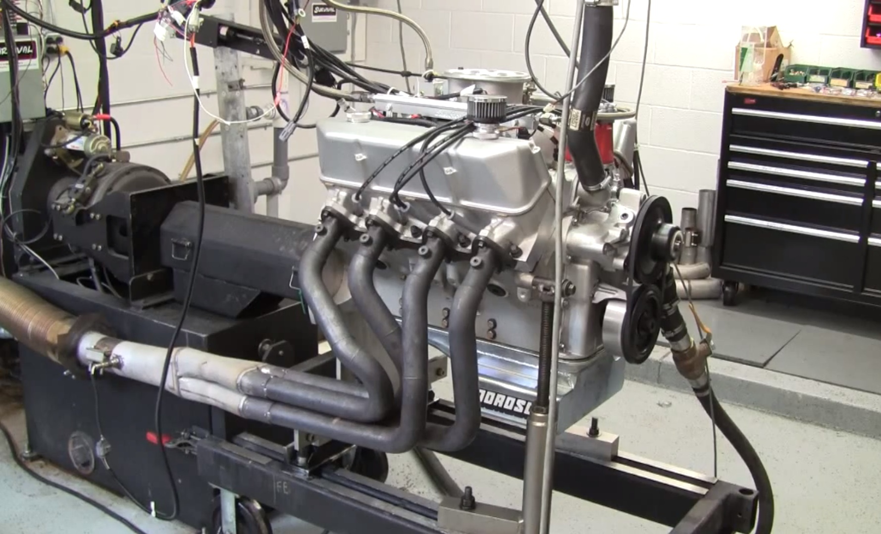 Video: Survival Motorsports FE 526-Cube Stroker Makes 621 Horsepower