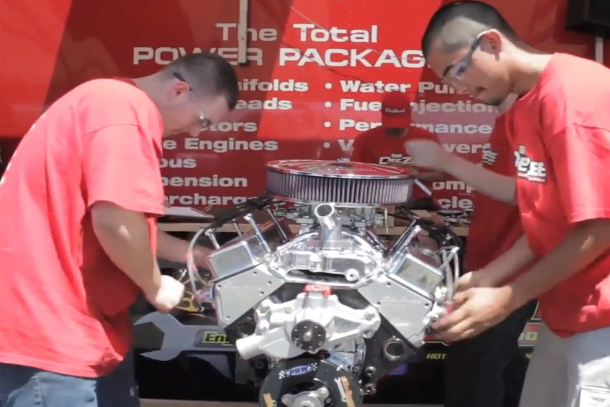Video: Goodguys' Hot Rodders Of Tomorrow Engine Challenge