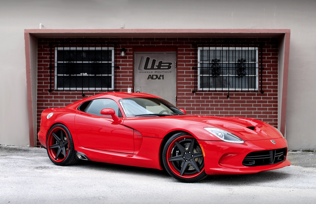 Miami's Wheels Boutique Offers One-Off Alloys For SRT's Latest Viper