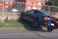 Videos: Back In Philly Again, With More Burnouts...And A Crash