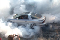 Video: 1100HP Turbo Trans Am Does HUGE Burnout