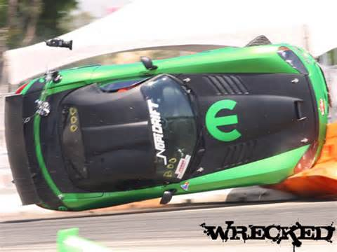 Video: Drifting Dodge Viper Ends Up On Its Roof