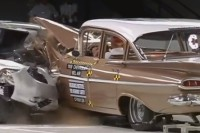 Video: Insurance Institute For Highway Safety's 50 Year Crash Test