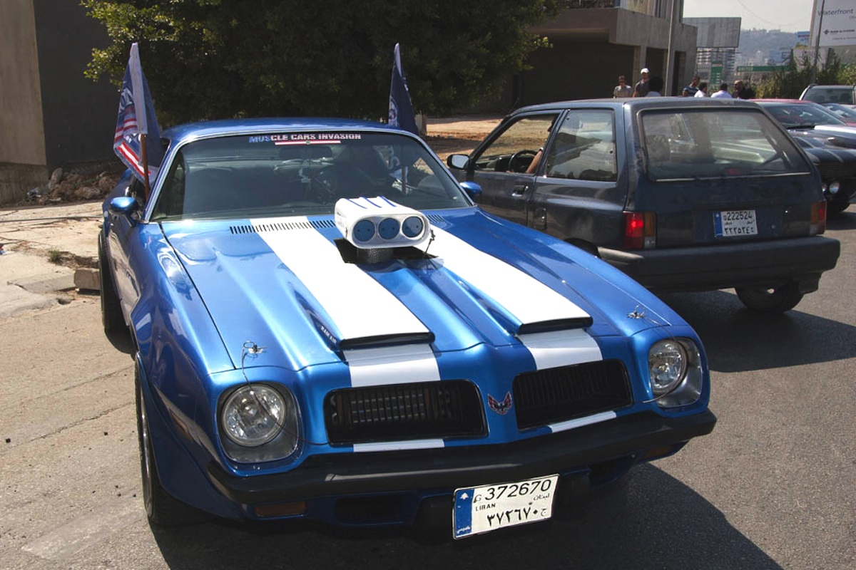 Lebanon's Muscle Car Invasion Brings American Muscle To The Mid East