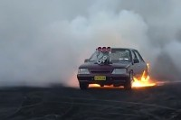 Burnout Mayhem: Aussies Make It Look Like Fun!