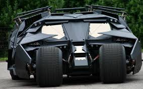 Video: Batman's Tumbler Batmobile - A Wicked Looking Thang