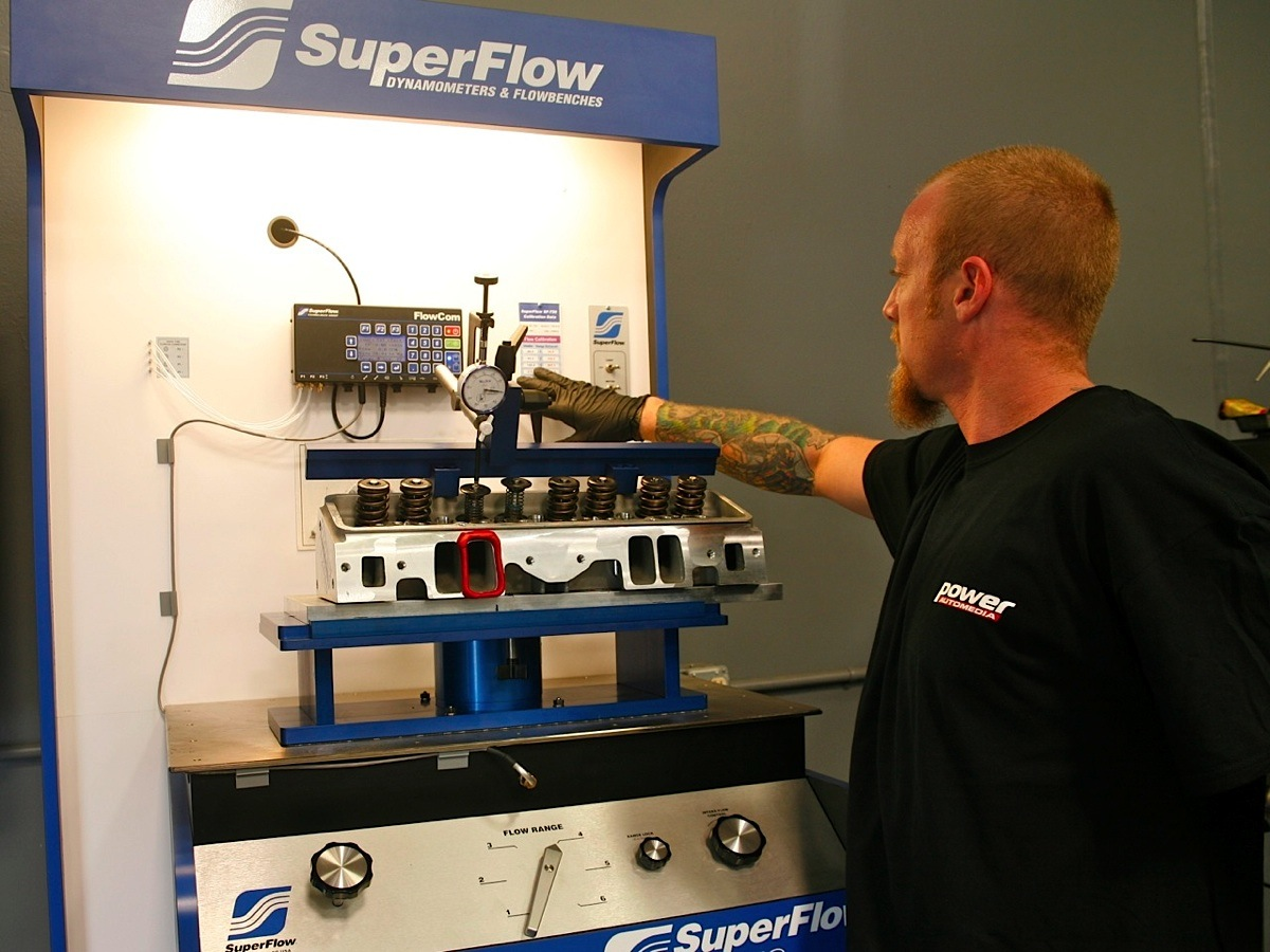 Understanding and Working With SuperFlow Flowbenches