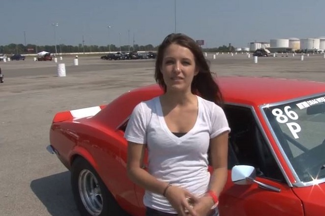 Video: 16-Year Old Girl With An 11-Second Camaro