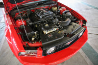 Driving Edelbrock's 08 Mustang with their 700 hp Coyote Crate Engine
