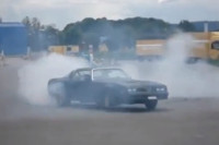Video: Awesome Donuts, Burnouts, and Cool Muscle Cars