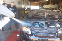 Street Racing Tip 187: How Not to Spray Your Car