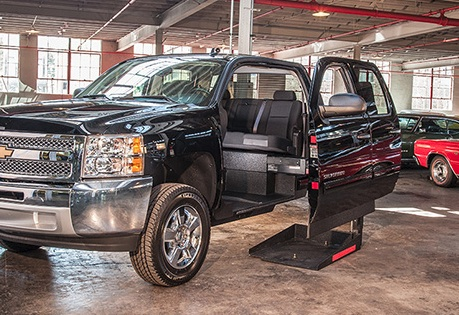 Video: Wheelchair Accessible Pickup a Step Up from Minivans