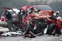 Wrong-Way Camaro Driver Kills Six on LA Freeway - UPDATED