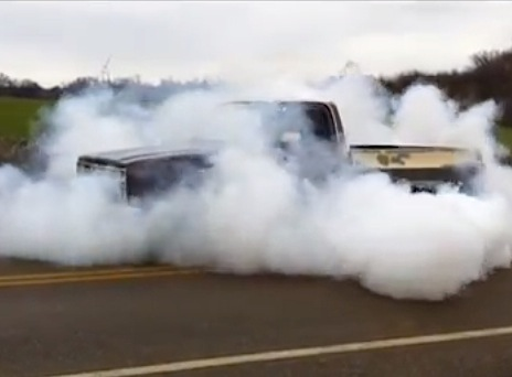 Video: 1984 C10 With 5.3 LS Engine Boils The Tires