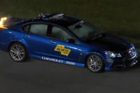 Video: Chevy SS Pace Car Catches Fire At NASCAR's Sprint Unlimited