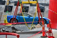 The Blue Devil Lives! First Corvette Extracted from NCM Sinkhole