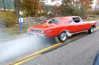 Video: Best Burnouts From Car Show With A Great Cause At Borgeson