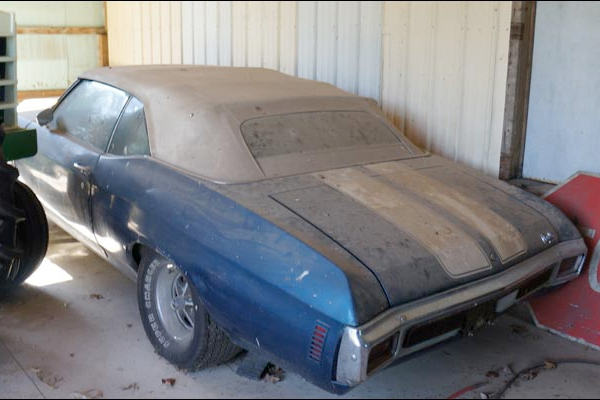 Wouldn't You Like To Find A Chevelle Like This In A Barn?